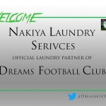 Dreams FC sign deal with Nakiya Laundry Services as official partner