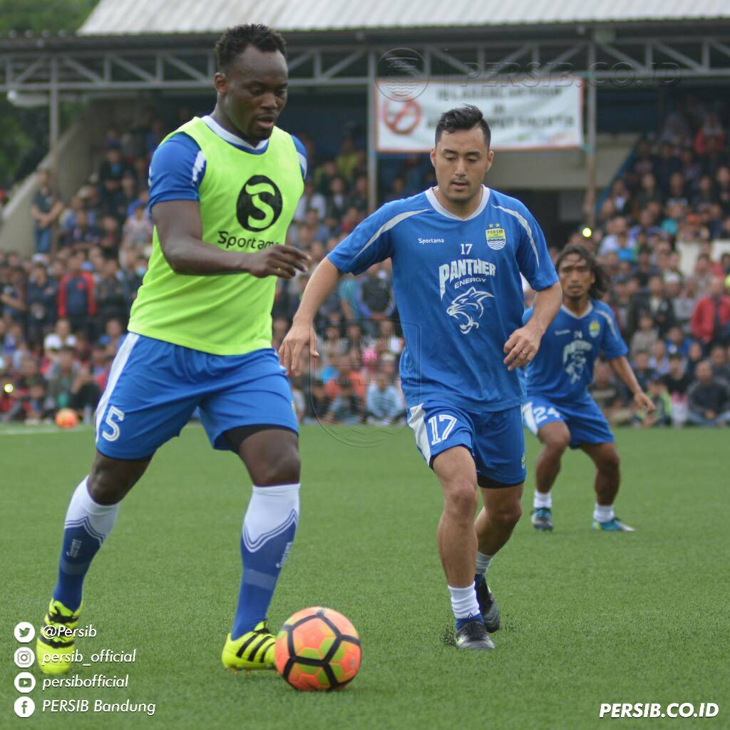 Persib Bandung to miss Essien in crucial game due to card accumulation