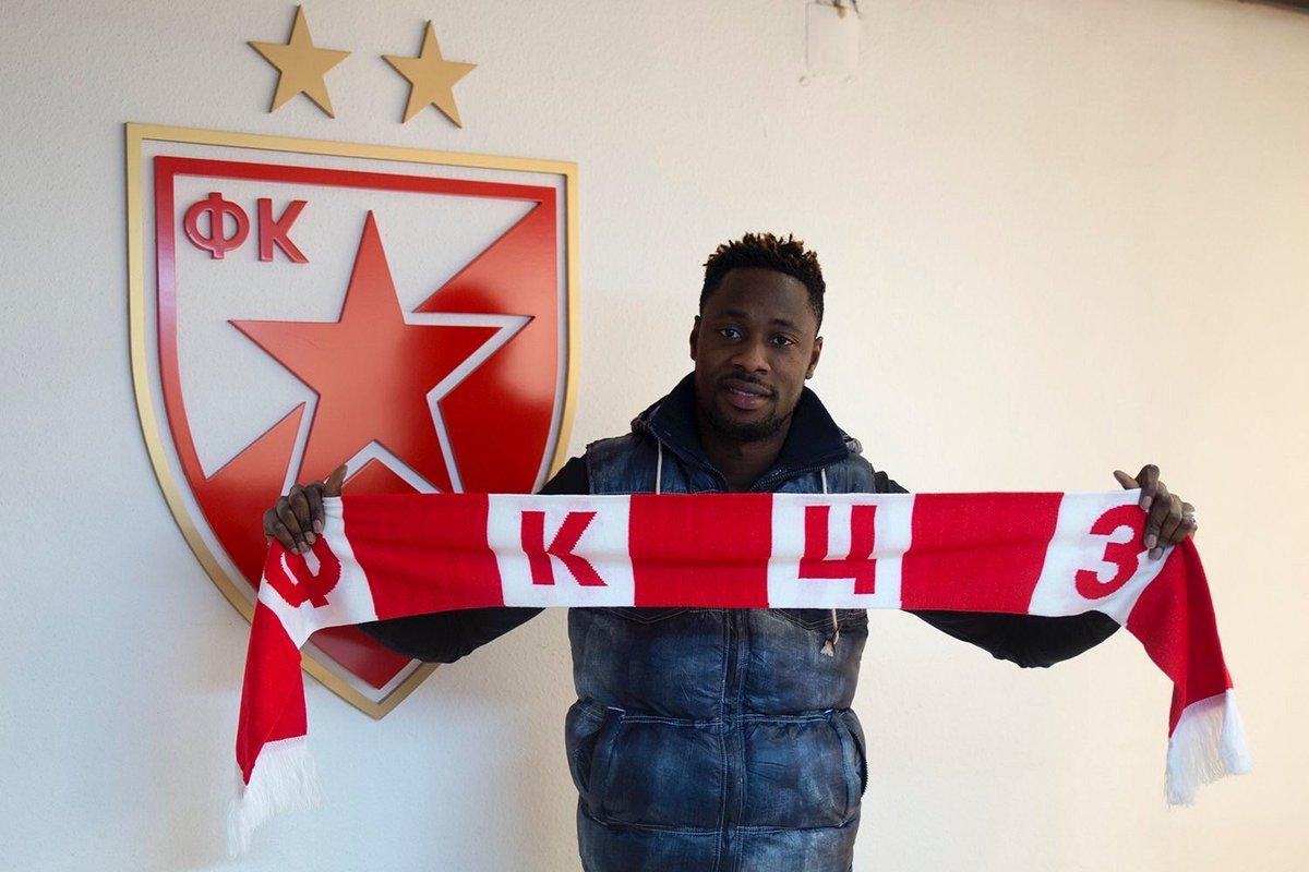VIDEO: Watch Richmond Boakye's two goals for Red Star Belgrade in league win