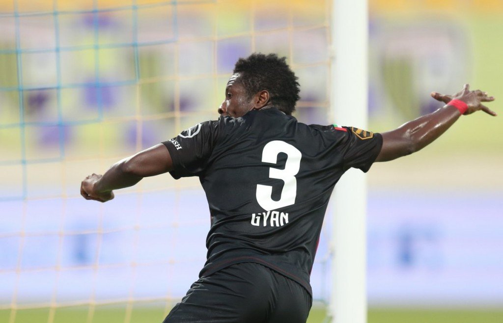 Black Stars captain Asamoah Gyan congratulates Al-Ain on UAE Pro-League triumph