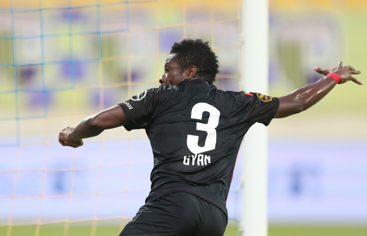VIDEO: Watch Asamoah Gyan's penalty goal in Al Ahli's league win