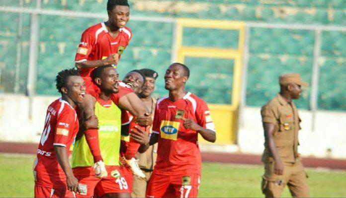 Match Report: Asante Kotoko 1-0 Bechem United - Relief for coach Paa Kwesi Fabin as Porcupine Warriors beat Hunters