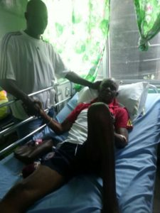 Renowned coach Herbert Addo on admission at 37 Military Hospital
