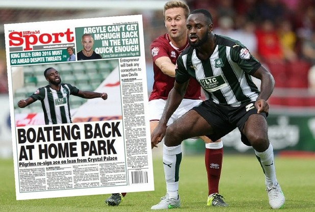 Feature: One year on from Hiram Boateng's return to Plymouth Argyle on loan