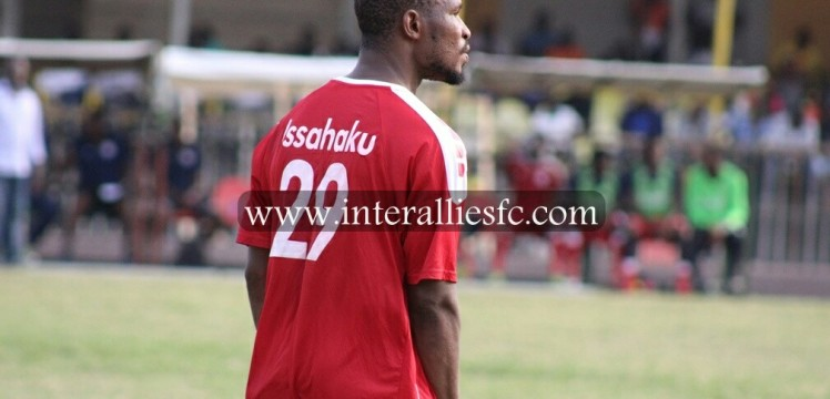 Inter Allies name defender Issahaku Zakari Player of the Week