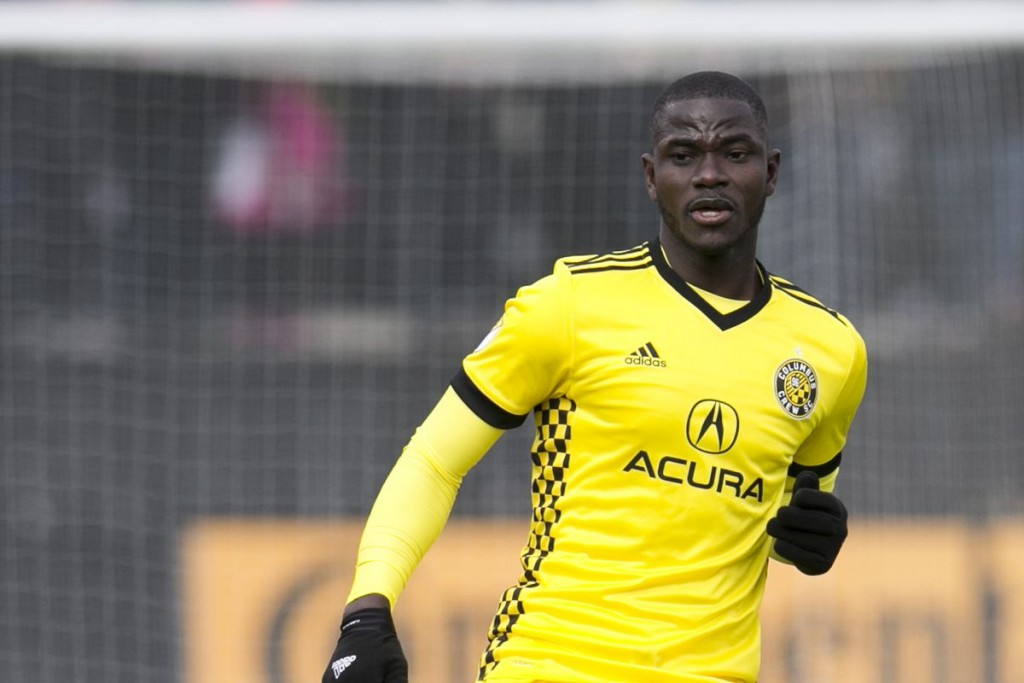 Columbus Crew defender Jonathan Mensah suffers slight hamstring strain