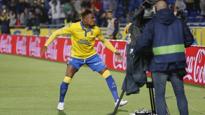Ghanaian midfielder Kevin Prince Boateng could stage a return to La Liga side Las Palmas next summer