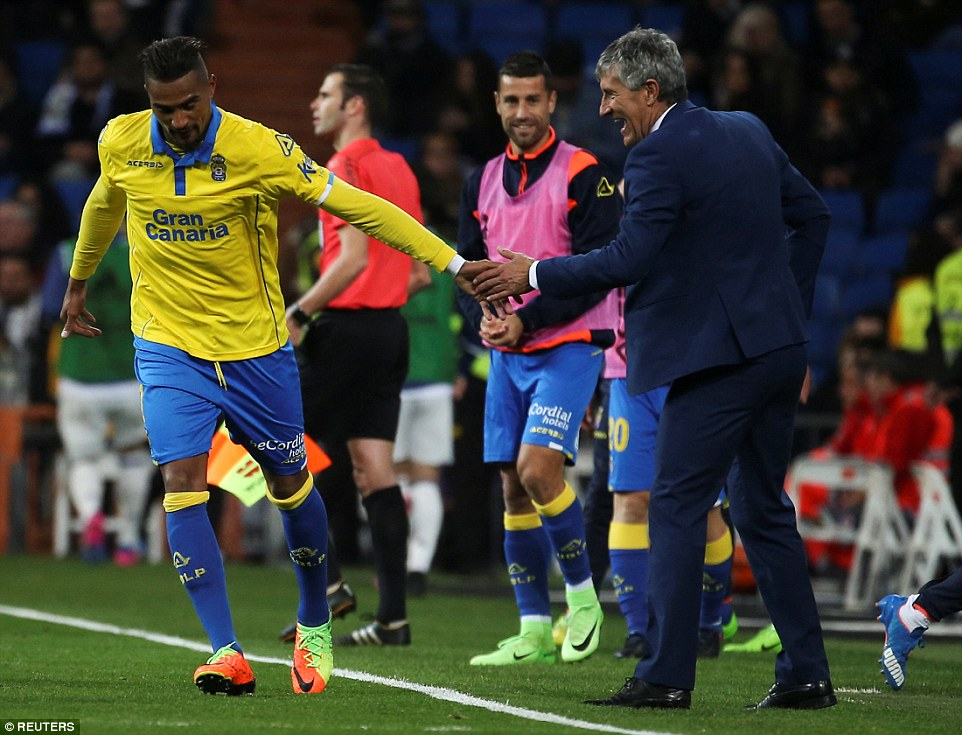 VIDEO: Watch Las Palmas star Kevin-Prince Boateng score 10th La Liga goal
