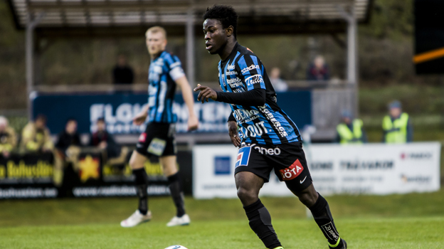 Ghanaian youngster Kingsley Sarfo scores for Swedish side Sirius in final pre-season win over Gefle