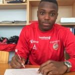 Patrick Kpozo unveiled by Norwegian side Tromso; defender set for debut on Sunday