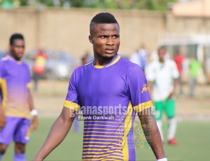Tema Youth forward Michael Kpovie delighted with swift start to the season