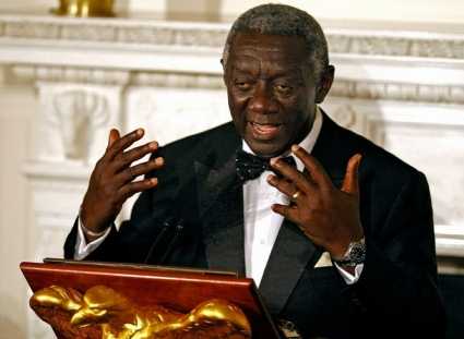 Former Ghanaian leader John Kufuor urges FA to invest in domestic football