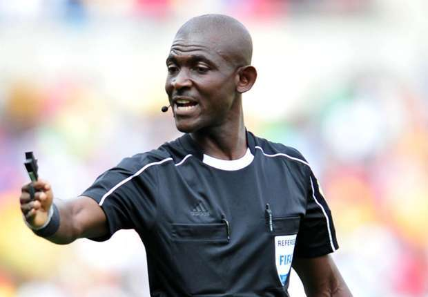 Meet Ghanaian referee J.O Lamptey who went viral after coping a FIFA life time ban