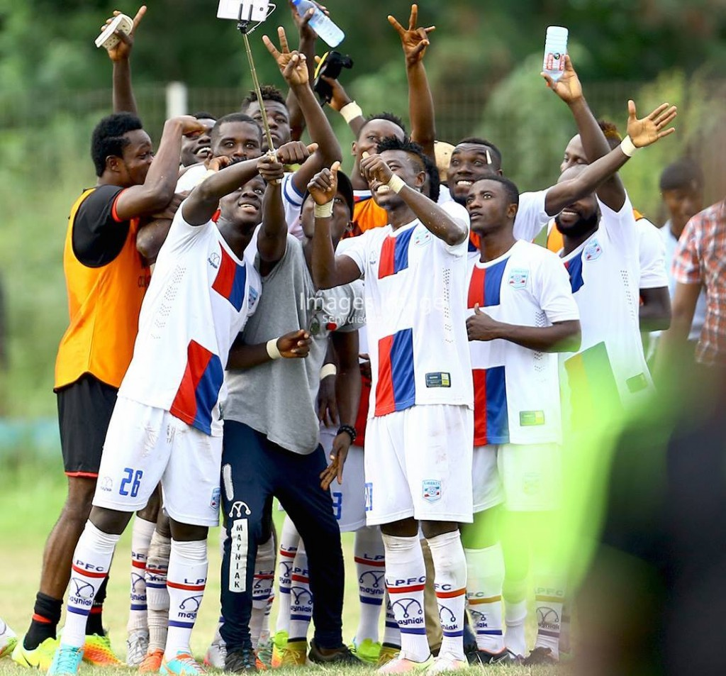 Match Report: Liberty Professionals 1-0 AshantiGold: Skipper Papa Arko's late strike inflicts another defeat on struggling Miners