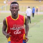 Unhappy Hearts forward Bright Lukman itches to exit club over lack of playing time