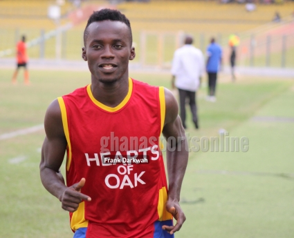 Hearts of Oak striker Bright Lukman worried over lack of game time; vows to break into starting XI