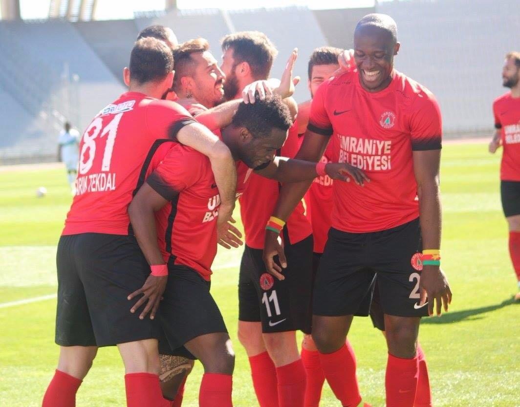 Mahatma Otoo scores in Umraniyespor 2-1 friendly defeat to Besiktas