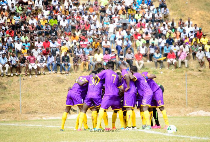 Medeama line up two friendly matches ahead of Tema Youth clash