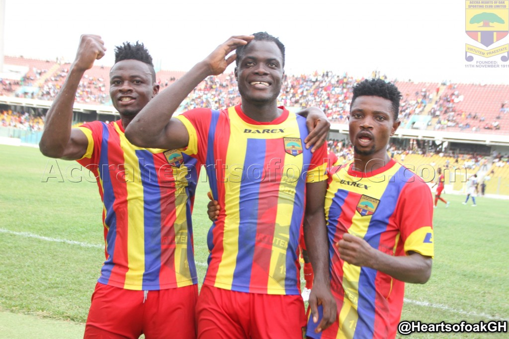 Hearts of Oak captain Inusah Musah assures fans of better 2017/18 campaign