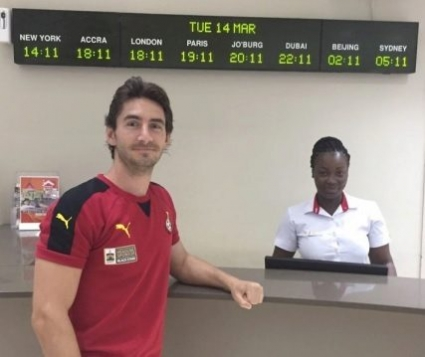 Gerrad Nus prevented from leaving Ghana over unpaid hotel bills; Spaniard BLASTS Ghana FA
