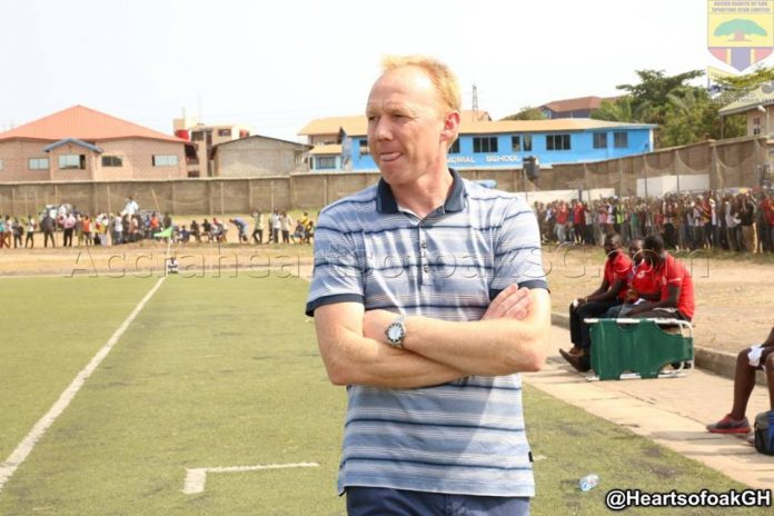 Hearts of Oak coach Frank Nuttall targets MTN FA Cup glory