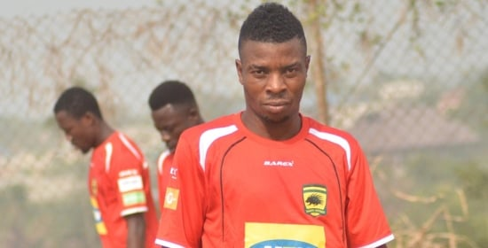 Former Kotoko winger Ollenu Ashitey eyes foreign move to get career on back on track