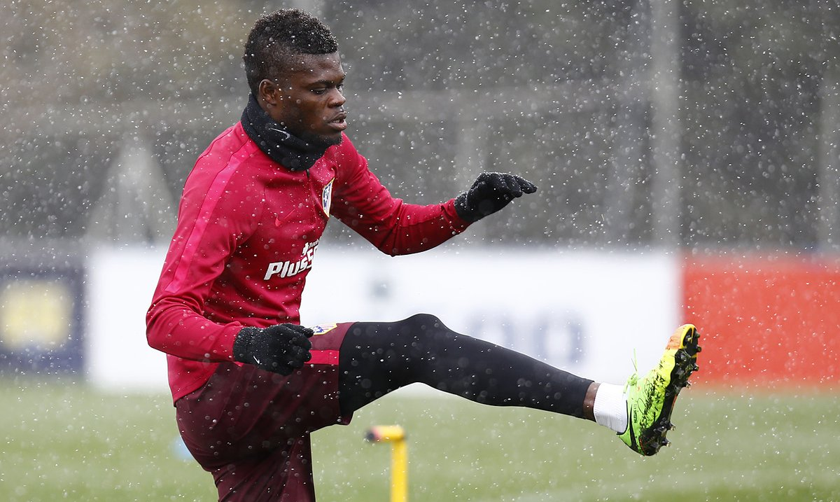 Atletico Madrid's Thomas Partey eyes more games in the last stretch of the season