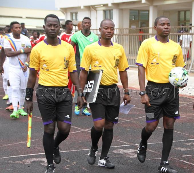 Irate Tema Youth fans held referees hostage after home defeat to Dwarfs