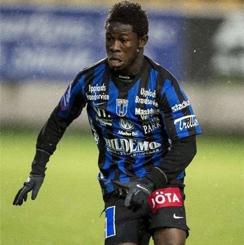 Winger Kingsley Sarfo scores as his Swedish top-flight side Sirius beat Gefle in friendly