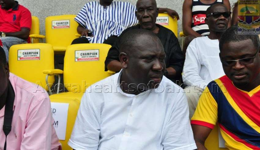 Hearts of Oak board member Vincent Odotei removed as Deputy Minister of Communications