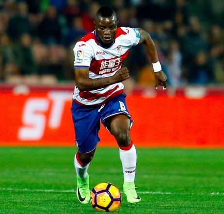 VIDEO: Mubarak Wakaso red carded in Granada defeat to Thomas Partey's Atletico Madrid