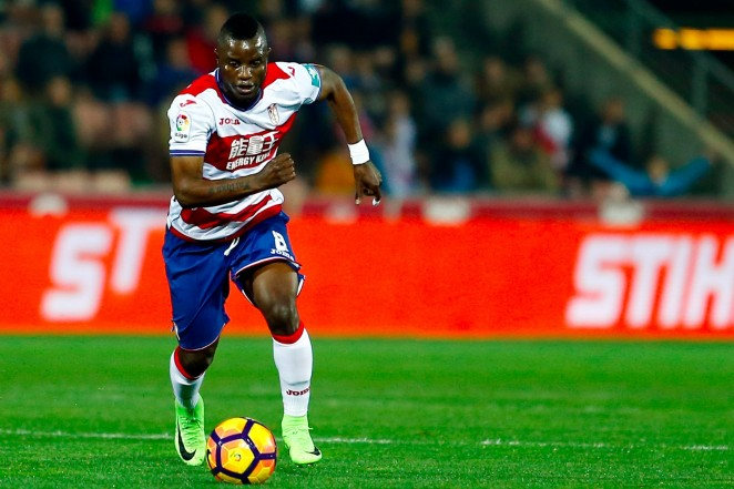 Granada star Mubarak Wakaso returns from suspension to face Barcelona