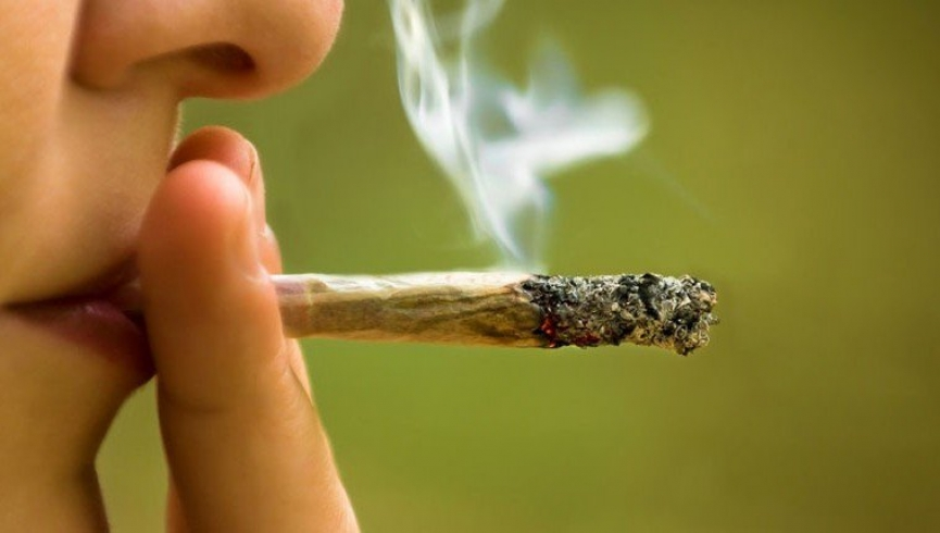 Smoking of banned substance marijuana at Berekum's Golden City Park is normal