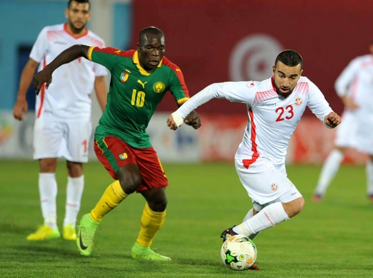 African champions Cameroon start reign with away win over Tunisia