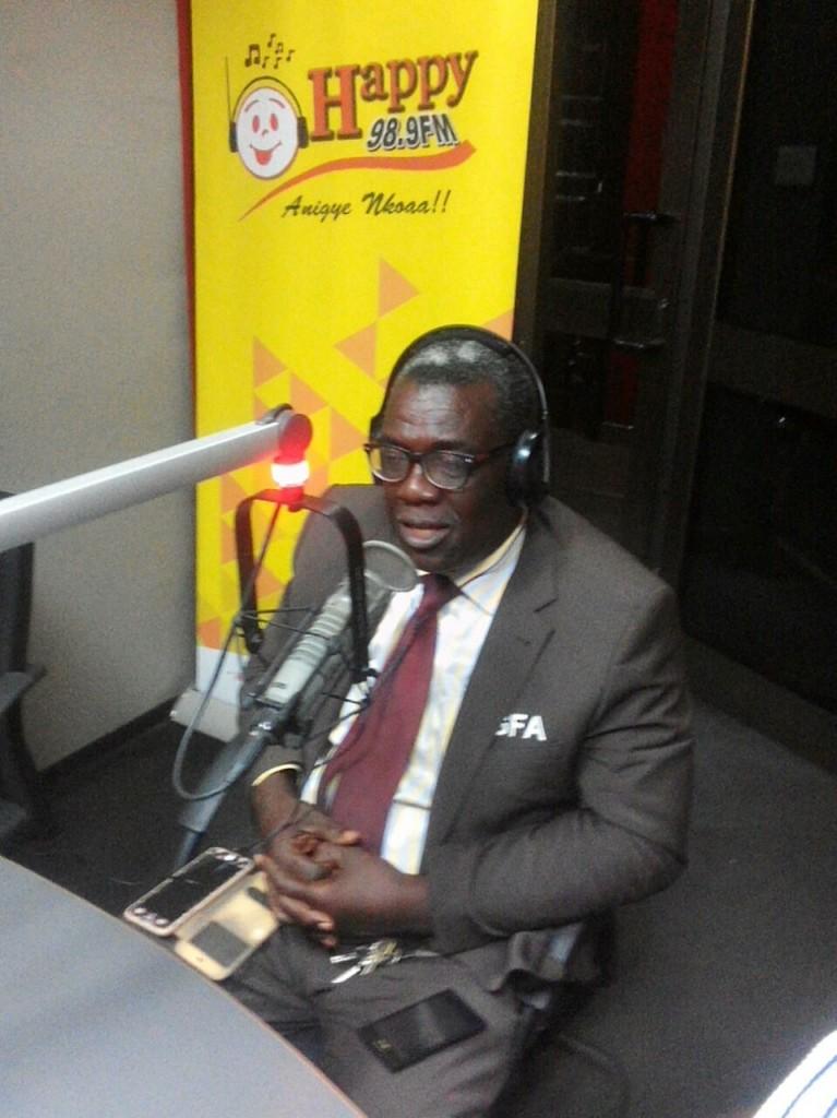 Black Stars B chairman Eddie Doku laments Burkinabe FA behaviour after training fiasco