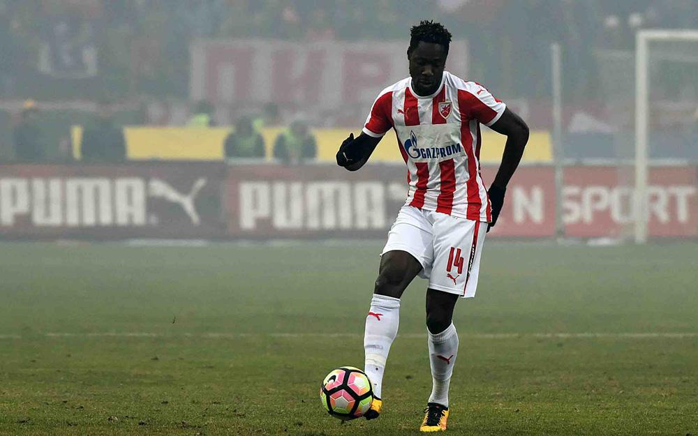 Richmond Boakye fires brace in topsy-turvy league win for Red Star Belgrade