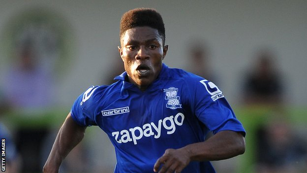 English side Birmingham City won't extend contract of Ghanaian striker Koby Arthur