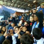 Akosua Puni draws huge crowd at Italian side Como in maiden stadium appearance
