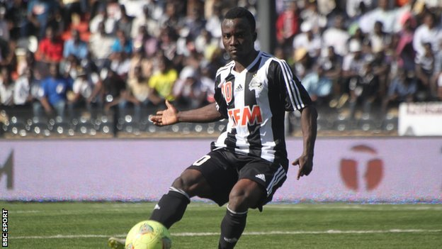 Ghana winger Solomon Asante set to leave DR Congo side TP Mazembe