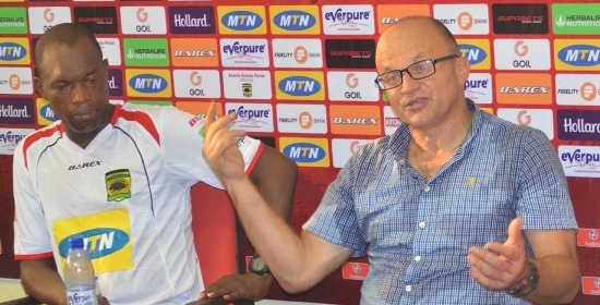 Kotoko coach Zdravko Lugarusic demands more goals from his strikers