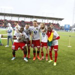 PHOTOS: Defender Sam Mensah celebrates Swedish Cup triumph with Östersunds FK
