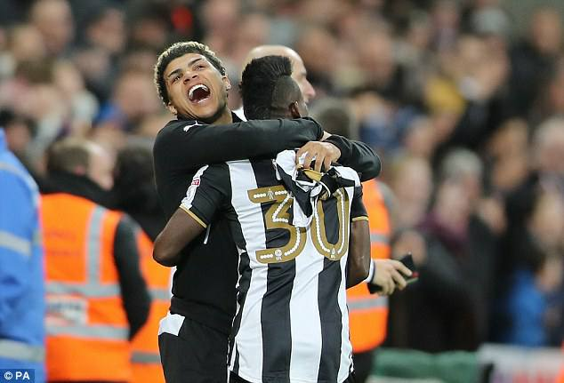 Majeed Waris hails compatriot Christian Atsu as Newcastle return to the Premier League