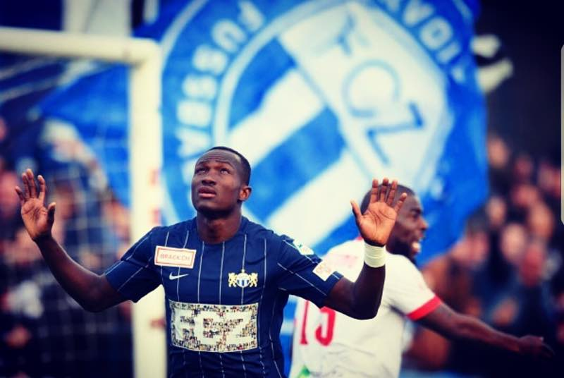 VIDEO: Watch Raphael Dwamena score 5th league goal and provide assist for promotion-bound FC Zurich