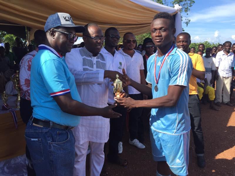 Ghana FA president Kwesi Nyantakyi honoured with football gala in hometown; inaugurates Fan Club
