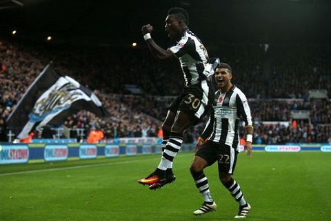 Christian Atsu scores as Newcastle United seal English Premiership promotion