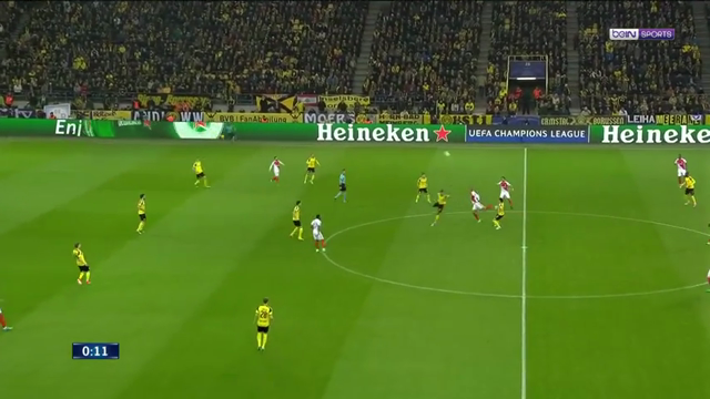 VIDEO Borussia Dortmund 2 – 3 Monaco (Champions League) Highlights