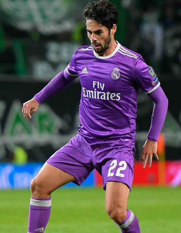 Real Madrid's two goal Isco happy with Sporting Gijon win