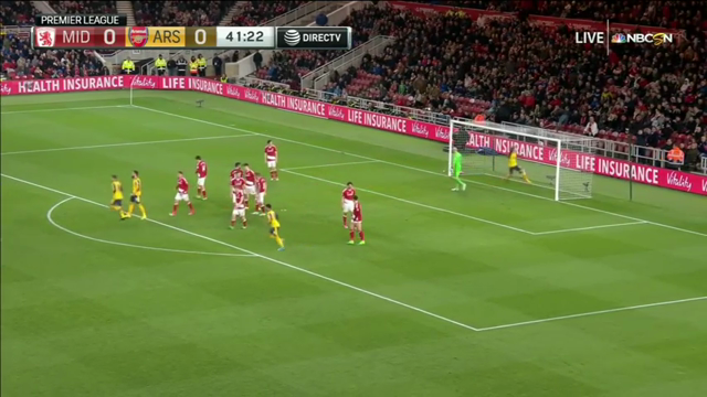 VIDEO Middlesbrough 1 – 2 Arsenal (Premier League) Highlights