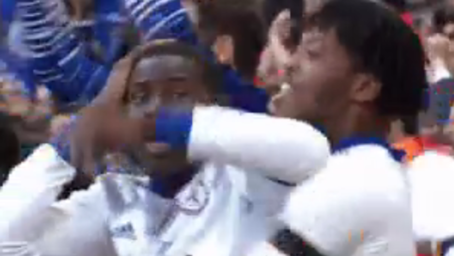 VIDEO: Kurt Zouma Reacted to Matic's Absolute Screamer Against Spurs Exactly Like the Rest of Us