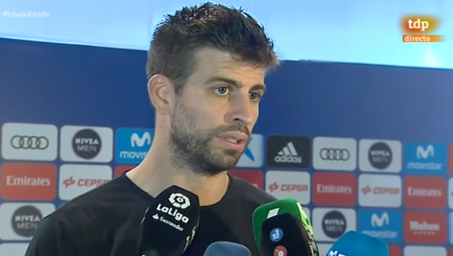 Pique Blasts Sergio Ramos' Reaction to Being Sent Off for 2-Footed Messi Tackle: He'll Regret It